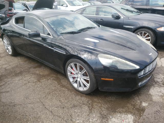 Salvage cars for sale from Copart Woodhaven, MI: 2010 Aston Martin Rapide
