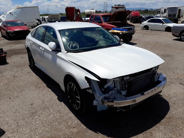 Salvage cars for sale at Tucson, AZ auction: 2019 Honda Accord LX