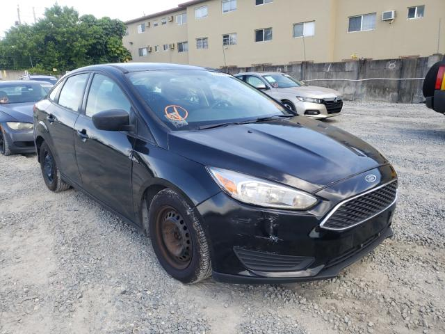 Salvage cars for sale from Copart Opa Locka, FL: 2017 Ford Focus S