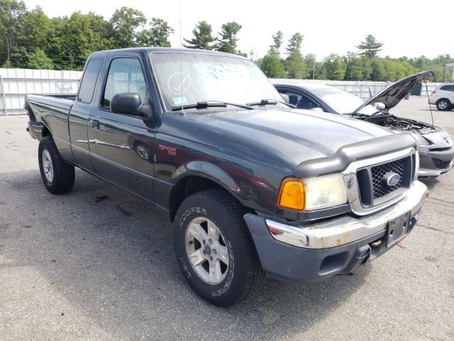 Salvage cars for sale from Copart Exeter, RI: 2004 Ford Ranger SUP