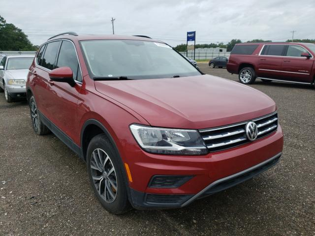 Salvage cars for sale from Copart Newton, AL: 2019 Volkswagen Tiguan SE