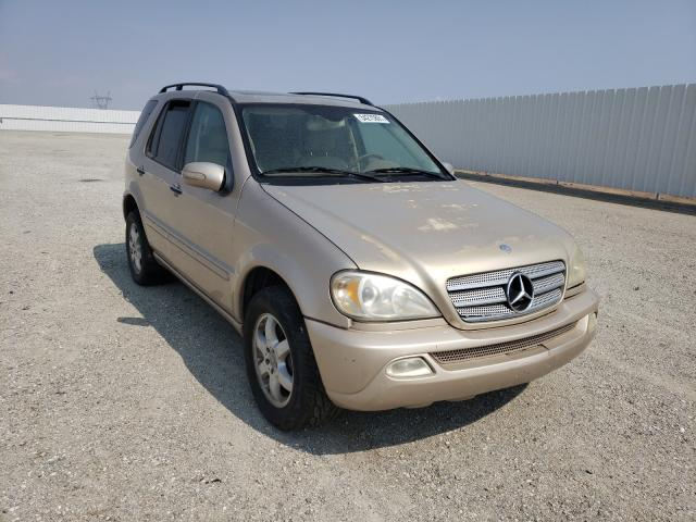 Salvage cars for sale from Copart Adelanto, CA: 2002 Mercedes-Benz ML 500