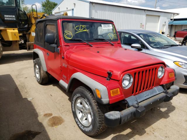 Vehiculos salvage en venta de Copart Pekin, IL: 2005 Jeep Wrangler X