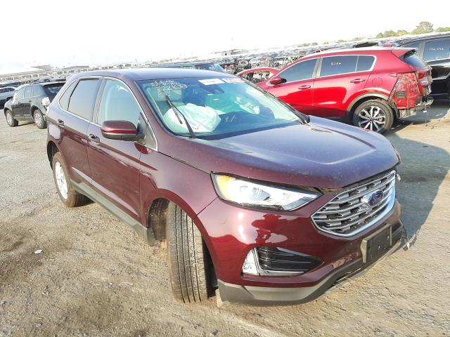 Rental Vehicles for sale at auction: 2021 Ford Edge SEL