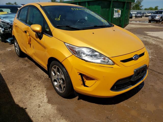 Vehiculos salvage en venta de Copart Pekin, IL: 2011 Ford Fiesta SES
