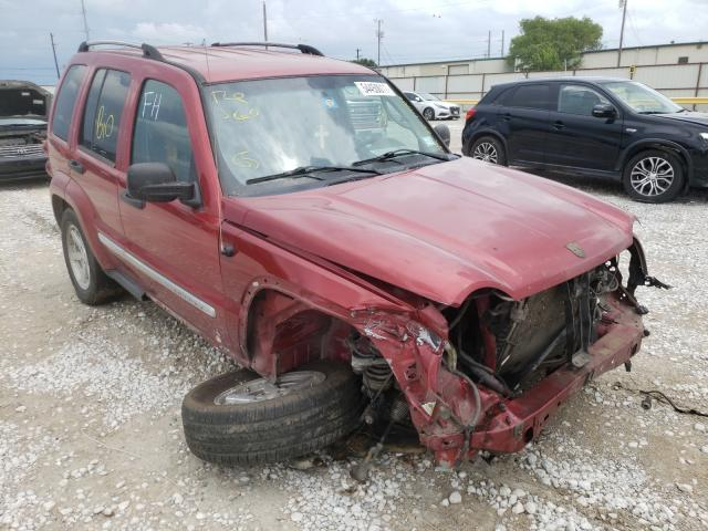 Salvage cars for sale from Copart Haslet, TX: 2007 Jeep Liberty LI
