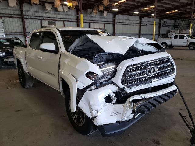 Salvage cars for sale from Copart Jacksonville, FL: 2017 Toyota Tacoma DOU