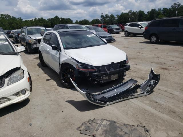 Volkswagen GTI S/SE Vehiculos salvage en venta: 2016 Volkswagen GTI S/SE