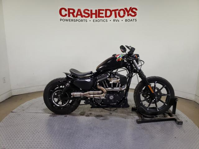 Salvage motorcycles for sale at Dallas, TX auction: 2020 Harley-Davidson XL883 N