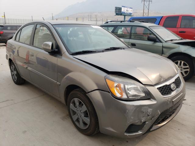 Salvage cars for sale from Copart Farr West, UT: 2011 KIA Rio Base