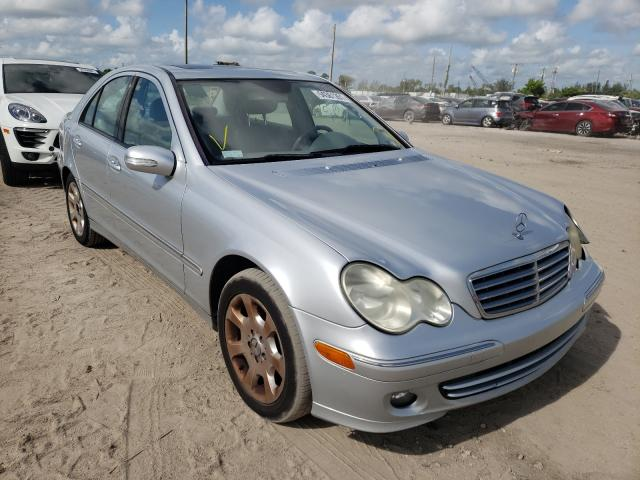 Salvage cars for sale from Copart West Palm Beach, FL: 2006 Mercedes-Benz C 280