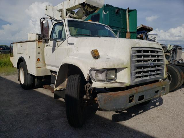 Ford F800 salvage cars for sale: 1998 Ford F800