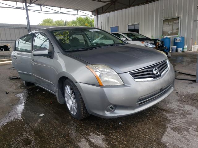 Salvage cars for sale from Copart Orlando, FL: 2012 Nissan Sentra 2.0