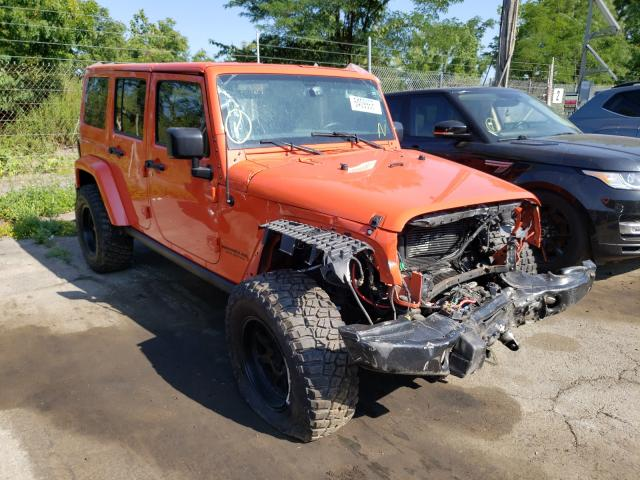 Salvage cars for sale from Copart Marlboro, NY: 2015 Jeep Wrangler U