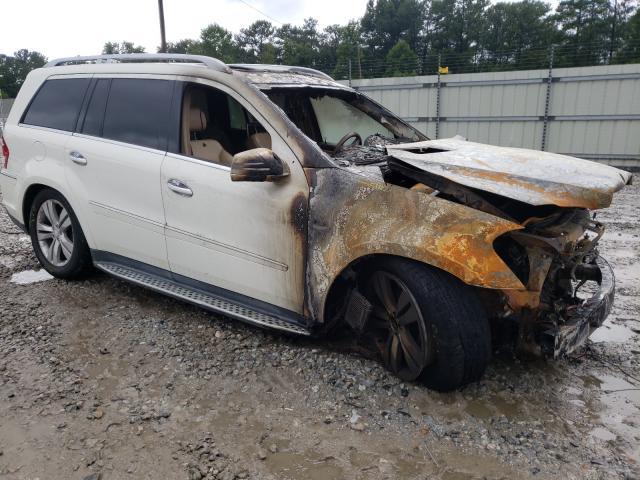 Salvage cars for sale from Copart Ellenwood, GA: 2011 Mercedes-Benz GL 350 BLU