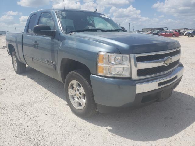 Salvage cars for sale from Copart San Antonio, TX: 2009 Chevrolet Silverado