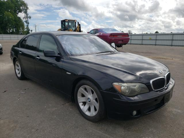 Salvage cars for sale from Copart Dunn, NC: 2008 BMW 750 LI