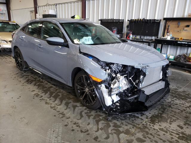 Vehiculos salvage en venta de Copart Spartanburg, SC: 2021 Honda Civic Sport