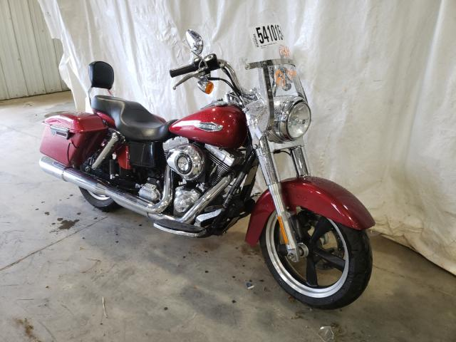 Salvage cars for sale from Copart Chatham, VA: 2012 Harley-Davidson FLD Switch