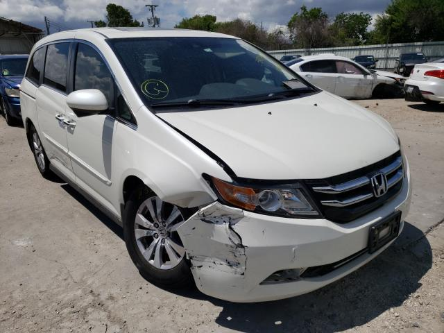 Salvage cars for sale from Copart Corpus Christi, TX: 2015 Honda Odyssey EX