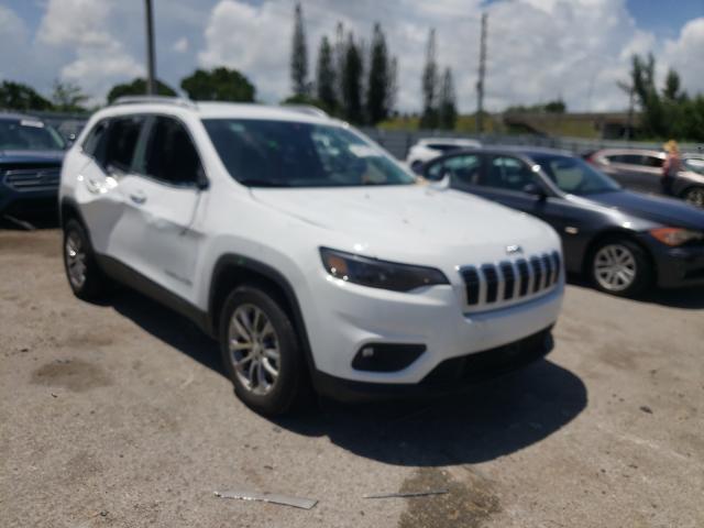 Vehiculos salvage en venta de Copart Miami, FL: 2021 Jeep Cherokee L