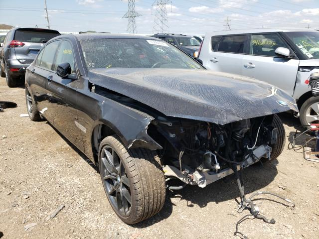 Salvage cars for sale from Copart Elgin, IL: 2013 BMW 750 LXI