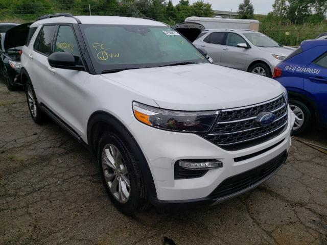 Salvage cars for sale from Copart Woodhaven, MI: 2020 Ford Explorer