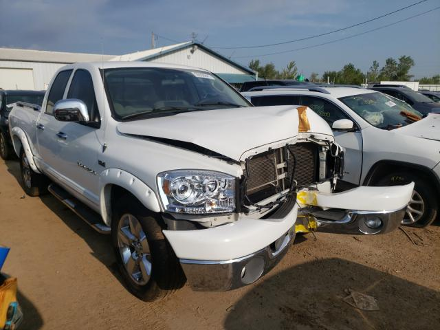 Salvage cars for sale from Copart Pekin, IL: 2007 Dodge RAM 1500 S