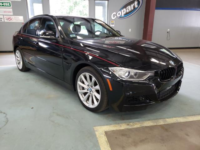 Salvage cars for sale at East Granby, CT auction: 2014 BMW 335 XI