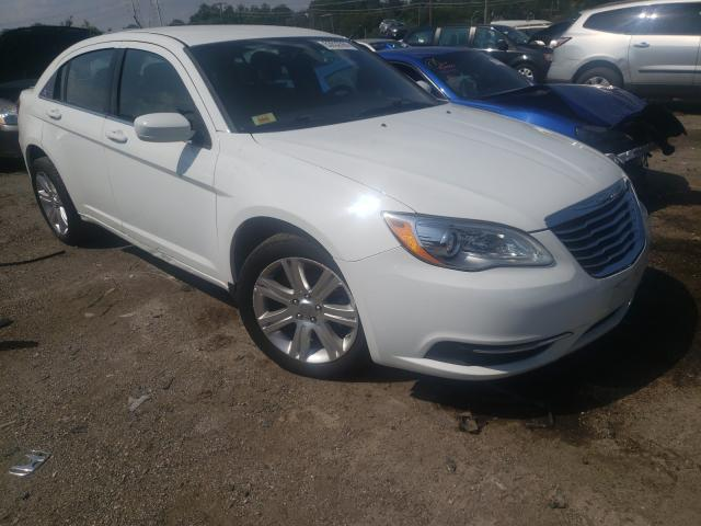 Salvage cars for sale from Copart Baltimore, MD: 2013 Chrysler 200 Touring