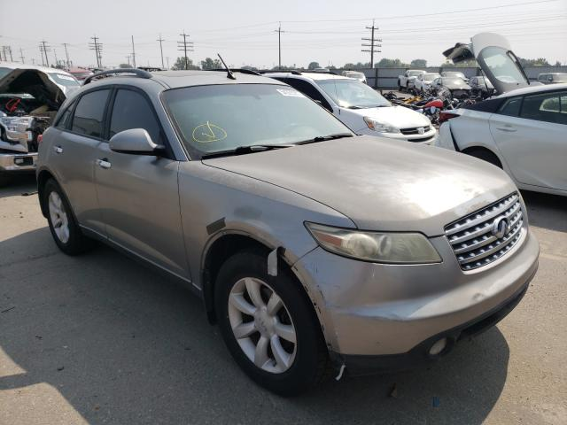 Salvage cars for sale at Nampa, ID auction: 2005 Infiniti FX35
