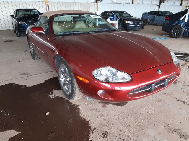 Salvage cars for sale from Copart Phoenix, AZ: 1997 Jaguar XK8
