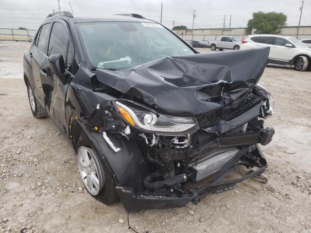 Salvage cars for sale from Copart Haslet, TX: 2019 Chevrolet Trax 1LT