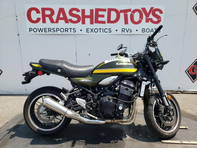 Salvage cars for sale from Copart Van Nuys, CA: 2020 Kawasaki ZR900 R