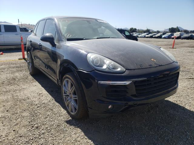 Salvage cars for sale from Copart San Martin, CA: 2016 Porsche Cayenne S
