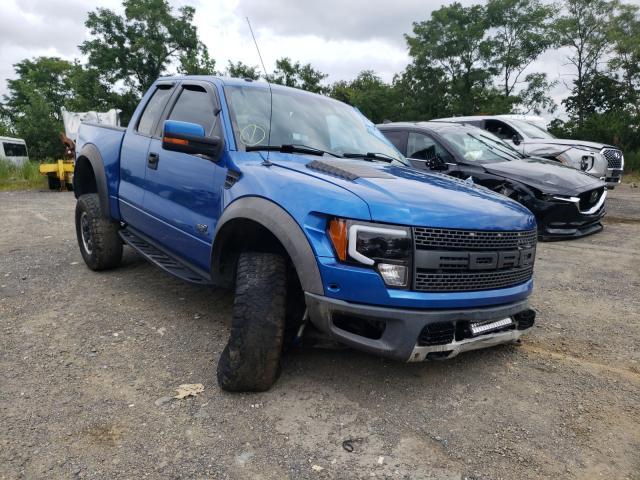 Vehiculos salvage en venta de Copart Marlboro, NY: 2011 Ford F150 SVT R