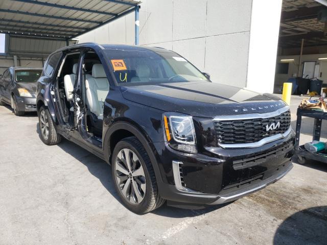 KIA salvage cars for sale: 2022 KIA Telluride