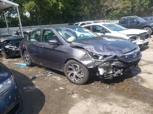 Vehiculos salvage en venta de Copart Austell, GA: 2017 Honda Accord LX