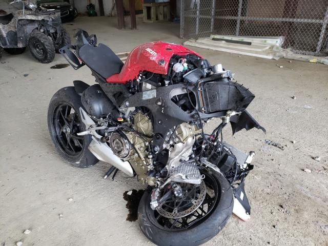 Ducati salvage cars for sale: 2021 Ducati Panigale V
