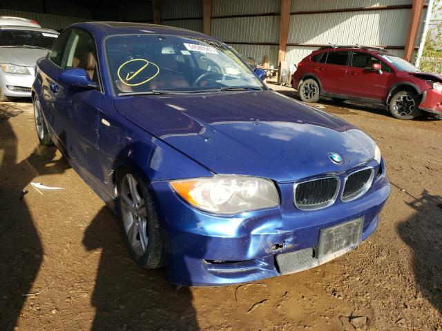 Salvage cars for sale from Copart Houston, TX: 2009 BMW 128 I