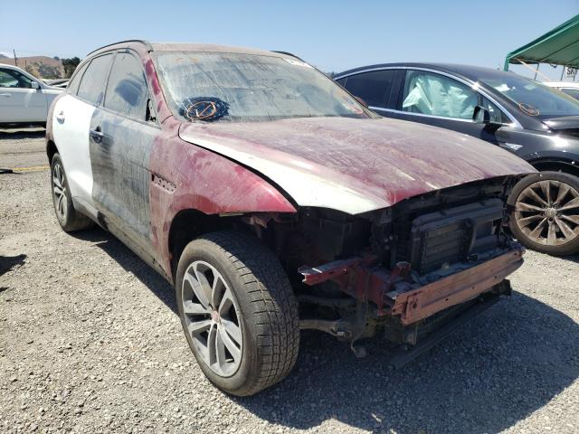 Salvage cars for sale from Copart San Martin, CA: 2017 Jaguar F-PACE Premium