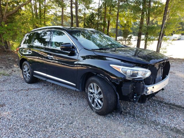 Salvage cars for sale from Copart Knightdale, NC: 2014 Infiniti QX60