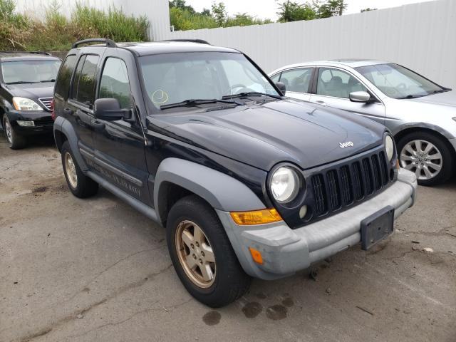Salvage cars for sale from Copart Marlboro, NY: 2007 Jeep Liberty SP