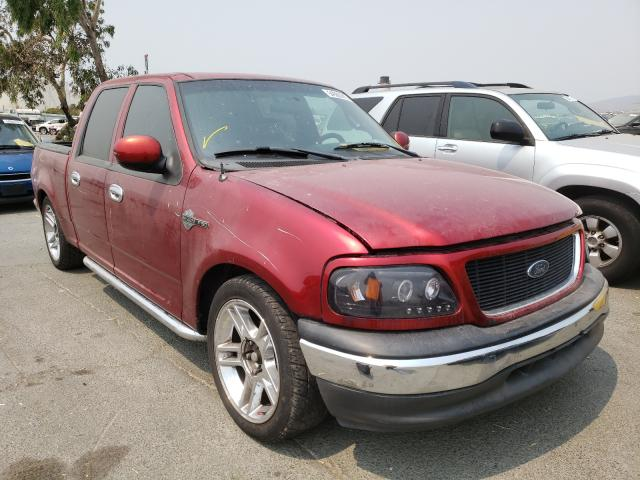 Salvage cars for sale from Copart Martinez, CA: 2001 Ford F150 Super
