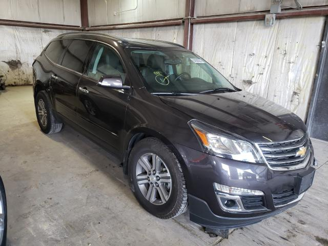 Salvage cars for sale from Copart Eldridge, IA: 2015 Chevrolet Traverse L