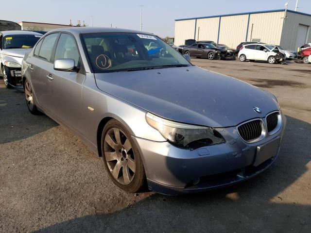 Salvage cars for sale at Las Vegas, NV auction: 2007 BMW 530 I