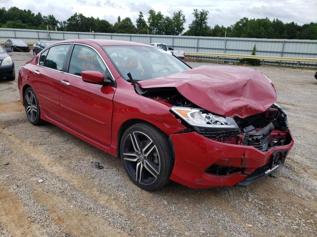 Salvage cars for sale from Copart Chatham, VA: 2017 Honda Accord Sport