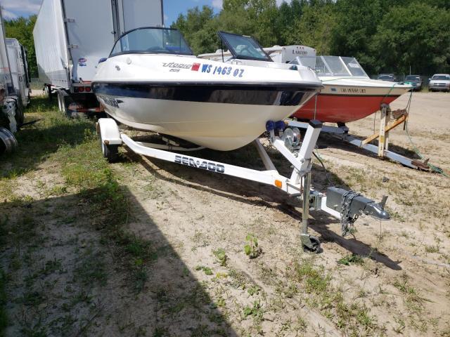 2003 Seadoo Boat With Trailer en venta en Madison, WI