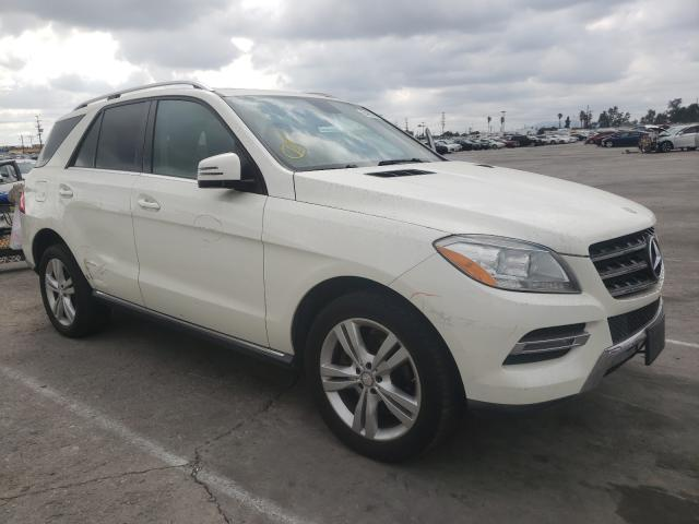 Salvage cars for sale from Copart Sun Valley, CA: 2013 Mercedes-Benz ML 350