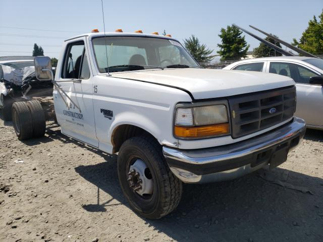 Salvage cars for sale from Copart Eugene, OR: 1997 Ford F350